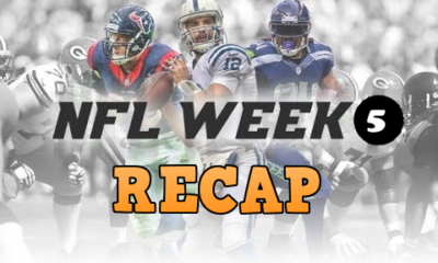 NFL Week 5 Recap